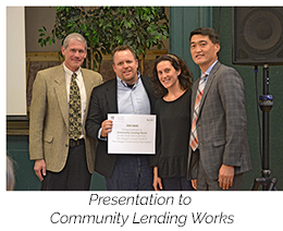 presentation to community lending works