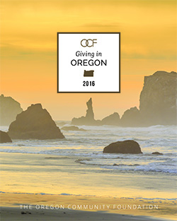 Giving in Oregon 2016