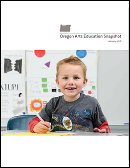 Oregon Arts Education Snapshot 2016