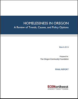 Homelessness in Oregon Report