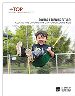 Cover of TOP report featuring child in swing