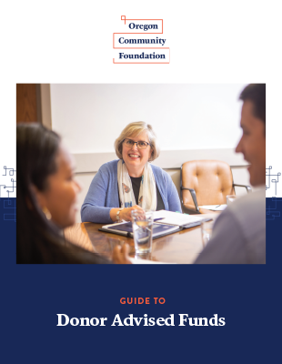 Guide to Donor Advised Funds